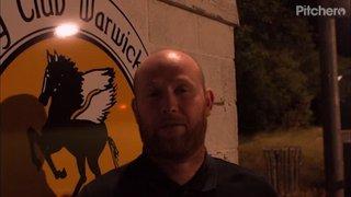 Scott Easterlow interview Stapenhill 070818