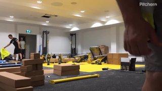 KRUFC New Gymnasium (Time-Lapse)