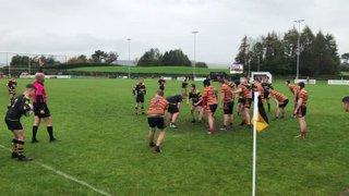 Slatts breaching the Bury defence
