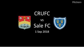 Match Summary CRUFC vs Sale FC 1 Sep18