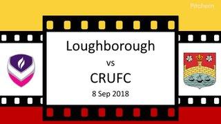 Loughborough Match Review 8 Sep 18