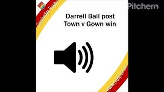 Darrell Ball Post Town V Gown