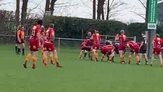 CRUFC 3XV vs North Walsham Raiders Dan Clifton Try