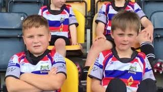 Under 7s at the Worcester Warriors Under 7s Festival - Saturday 14th October 2017