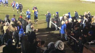 The Townites give the Blues a rousing ovation after holding league leaders Stourbridge