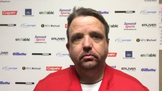 Thomas Baillie talks after our penalty shoot out win over Kettering Town