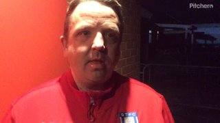 Thomas Baillie's post match comments after our 1-0 win at Tamworth