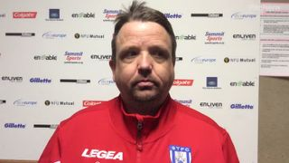 Thomas Baillie's post match comments after comprehensive win over Needham Market