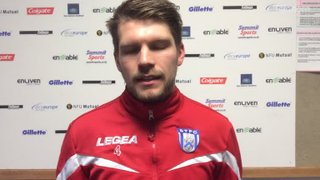 Jimmy Fry's post match comments after his superb strike gave the Blues 1 1-0 victory over Rushden & Diamonds