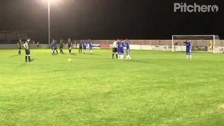 Ben Allen Freekick v Gillingham FC