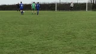 Ryan Pooley Scores Penalty v Padstow