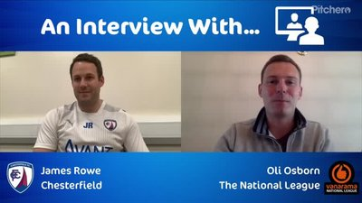 Interview with Chesterfield boss James Rowe