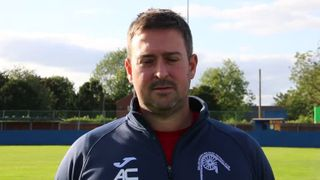Clerke's reaction to Shirebrook Win