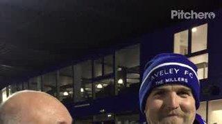Match Sponsors Paul Morgan & David Friend from Thurrock Marching Brass