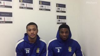 Interview with Wyan Reid & Sam Mvemba after the win against Romford