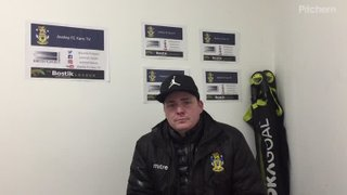 James Webster - Post Match - Witham Town - Home