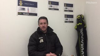 Millers Assistnt Manager James Roach Post Match vs Milldenhall Town