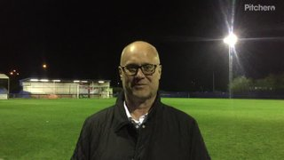 Chris Smith - Post Match - Brentwood Town - Away