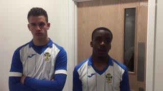 Goal Scorers Callum Owen & Josh Okpa - Reserves v Barkingside
