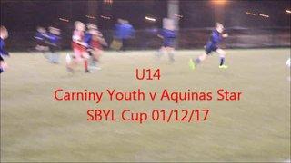 U14 Carniny AYFC v Aquinas Star 01/12/17