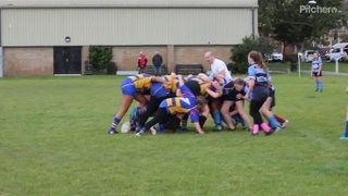 U15s stretching Kingswoods defence