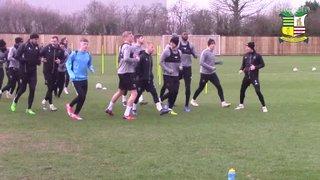 Training pre AFC Fylde