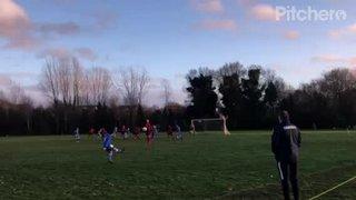 Dane Kirby Header - Wrightchoice & Unity CSA v Burghfield FC