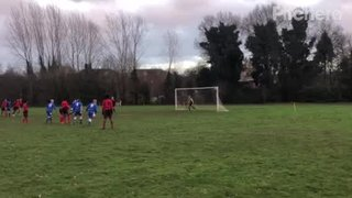 Adam Taylor Penalty - Wrightchoice & Unity CSA v Burghfield FC
