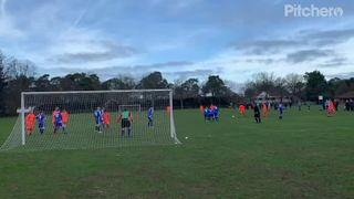 Jake Brown Free Kick v Calcot FC