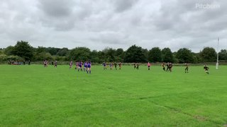 West Leeds' first try