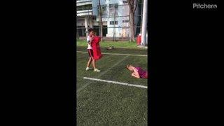 Ball Carry Technique