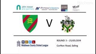 Ealing CC 1st XI vs Twickenham CC 1st XI