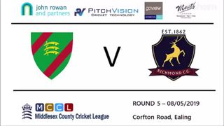 Ealing CC 1st XI vs Richmond CC 1st XI