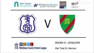 Harrow St Mary's CC 1st XI vs Ealing CC 1st XI