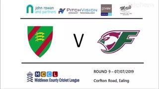 ECC 1st XI vs Finchley CC 1st XI