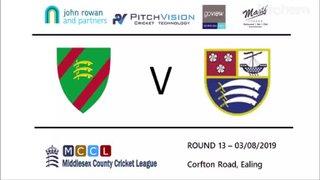 Swardeston CC 1st XI vs Ealing CC - 1st XI