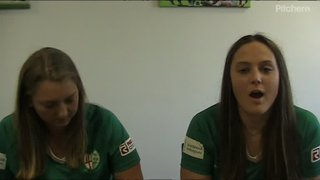 Q&A with 2 of our London Irish Ladies.