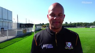 Michael Leslie as 1st team coach