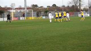 Gosport Borough FC V Tiverton Town FC Penalty
