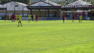 River Allen's penalty V Beaconsfield FC