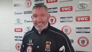 Longridge Town 5-1 St Helens Town: The Manager's Thoughts