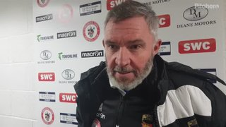 Longridge Town 1-3 Colne: The Manager's thoughts