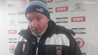 Longridge Town 8-1 Daisy Hill: The Manager's Thoughts
