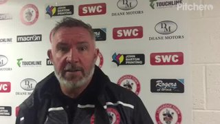 Longridge Town 6-1 Barnoldswick Town: The Manager's Thoughts