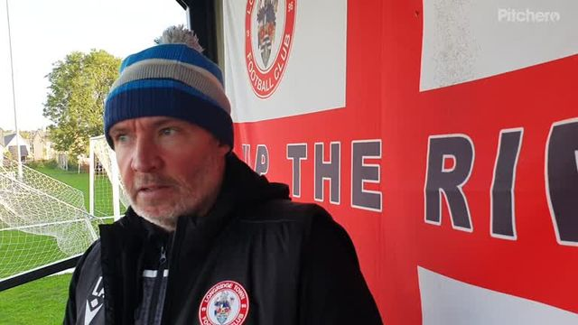 Longridge Town 4-2 Crook Town: The Manager's Thoughts