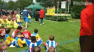 U7's Collecting their trophies