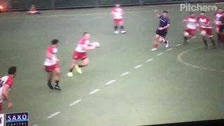 Marno Meyer smashes Connor Hartley