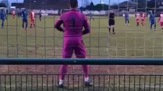 Eddie Cavanagh Penalty Save