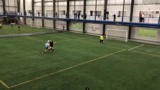 2019Mar24 - A nice goal for Kylye Nippard, from a skewed angle