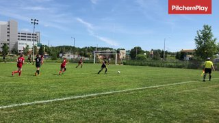 2019Jul14 - Kaylee Bruce scores vs Greater Sudbury Impact (3-1)